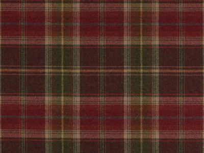 GALLOWAY PLAID - CHARCOAL/RED-0