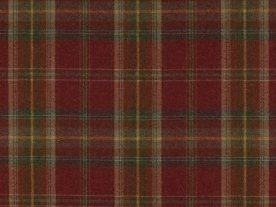 GALLOWAY PLAID RED/SAND-0
