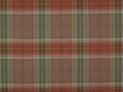 GALLOWAY PLAID TOMATO/SAGE-0