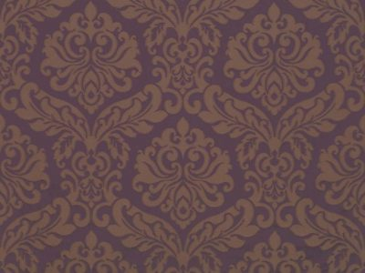 ABACUS DAMASK - BLACK CURRANT/TAUPE-0