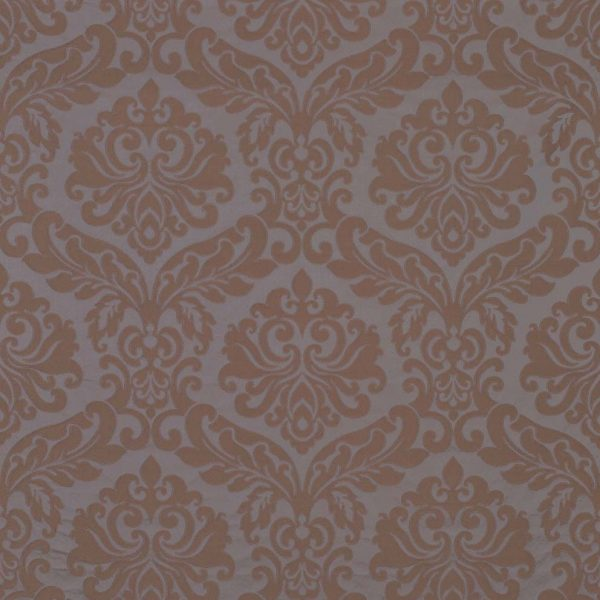 ABACUS DAMASK - TAUPE/DARK DOVE-0
