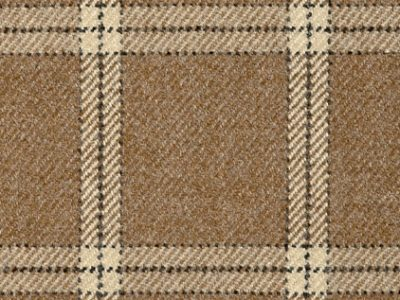 LAMBSWOOL PLAID - CAMEL-0