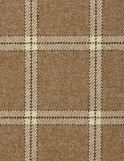 LAMBSWOOL PLAID – CAMEL-0