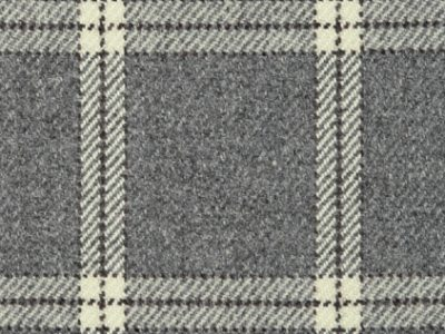 LAMBSWOOL PLAID - GREY FLANNEL-0