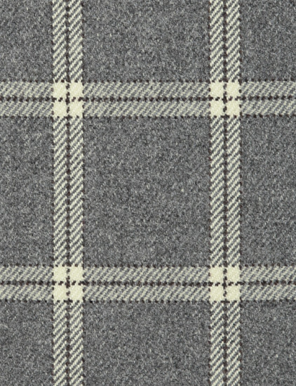 LAMBSWOOL PLAID – GREY FLANNEL-0