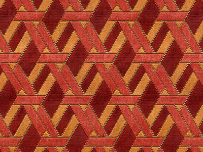 WELBECK - RED/ORANGE -0