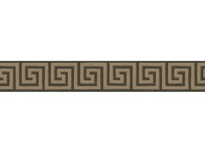 QUEENS KEY BORDER - CHARCOAL/BRONZE-0