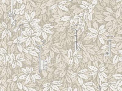 CHIAVI SEGRETE - STONE/WHITE-0