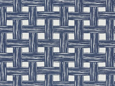 BAMBOO LATTICE - DENIM-0