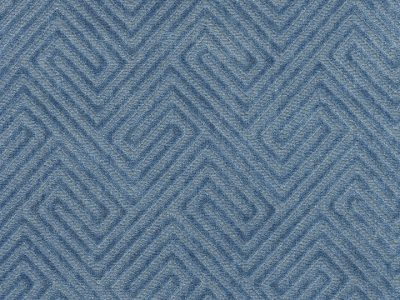 MEANDER VELVET - DENIM-0